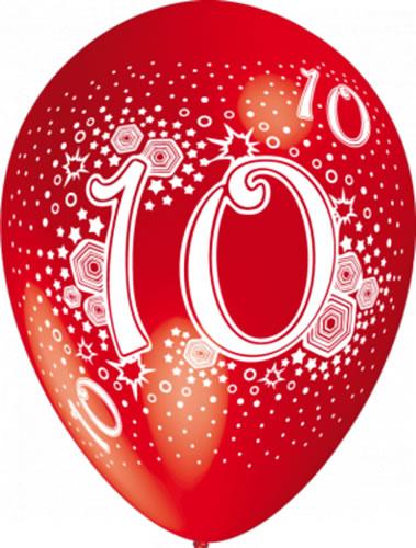 Lufi, évszámos (10), pasztel, 10 db/cs/vegyes színekben