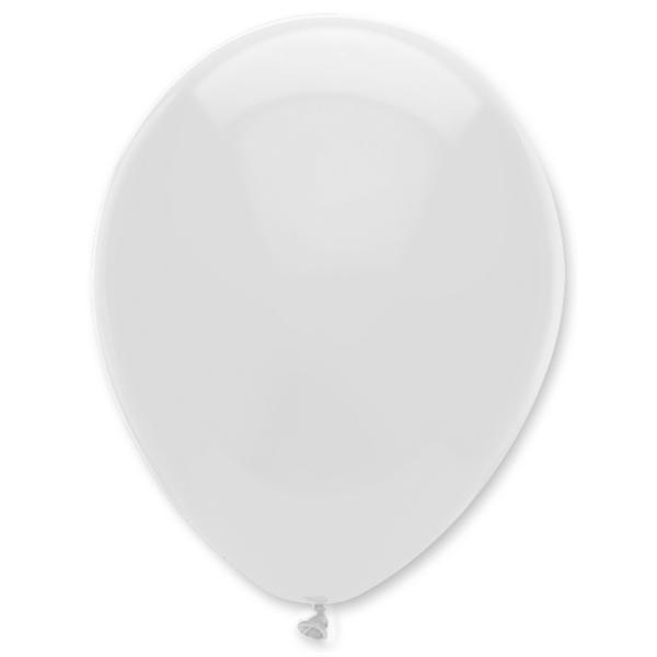 Gömb lufi d30 100 db, fehér