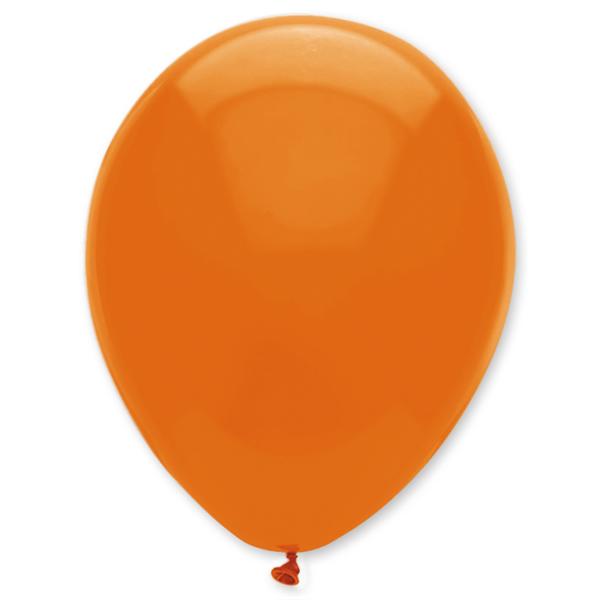 Gömb lufi d30 100 db,  narancs