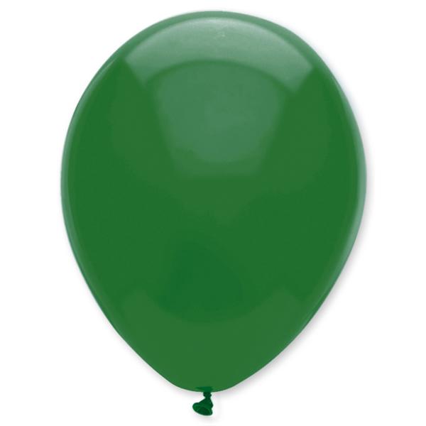 Gömb lufi d30 100 db,  sötét zöld