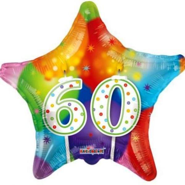 60. Évszámos lufi, fólia, csillag