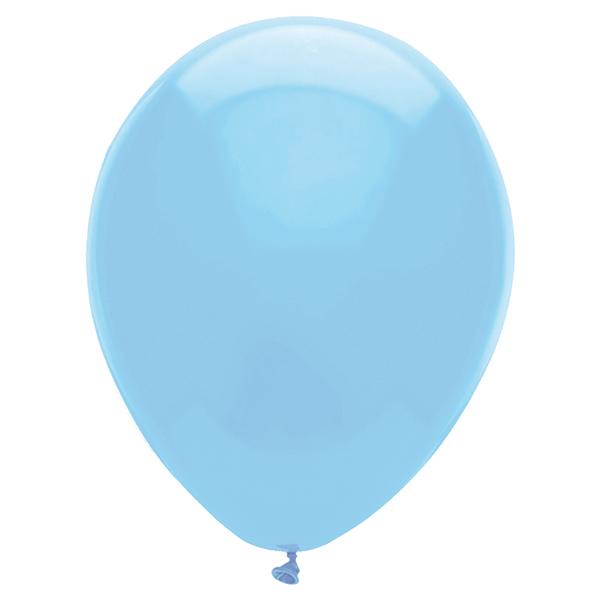 Gömb lufi d30 100 db, bébi kék