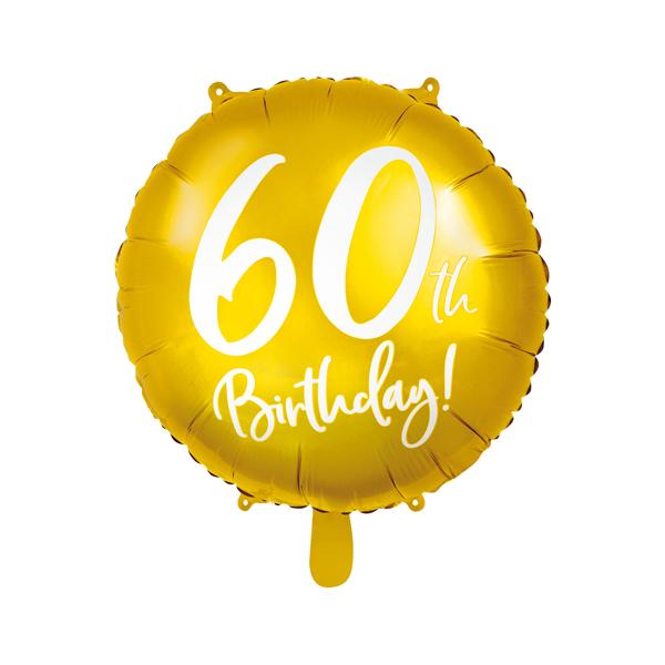 60. Évszámos lufi, fólia, happy b, 18