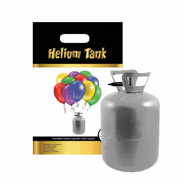Hélium palack 50 léggömb felfújására + 50 pasztel lufi