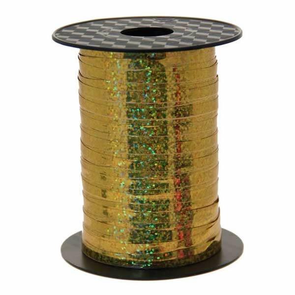 Kötöző szalag, hologramos arany, 250m*4,8mm