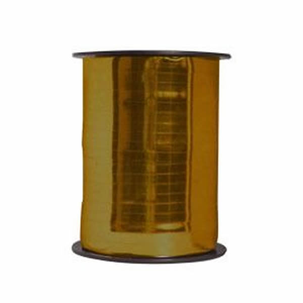 Kötöző szalag, metál arany, 250m*4,8mm