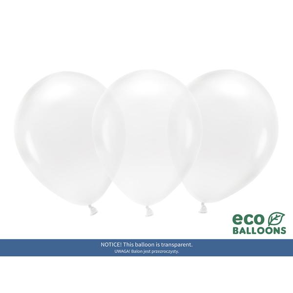 ECO Lufi, kristály tiszta, 30cm, 100 db/cs