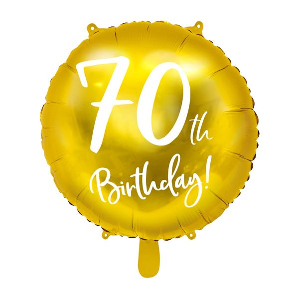 70. Évszámos lufi, fólia, happy b, 18