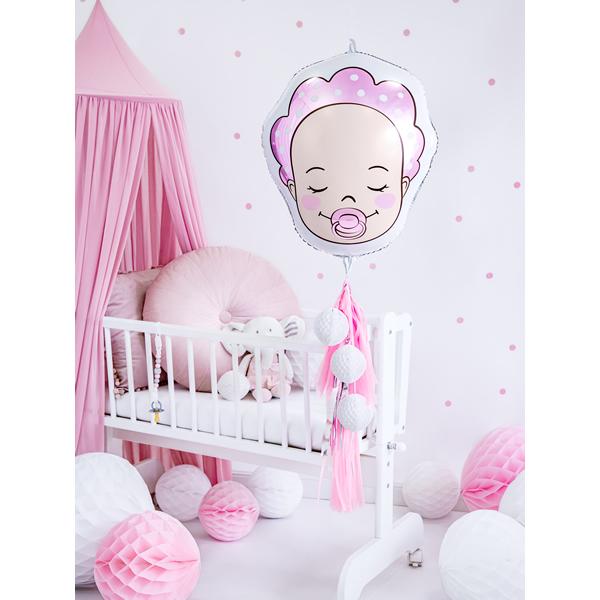 Baby girl, fólia lufi, 45 cm