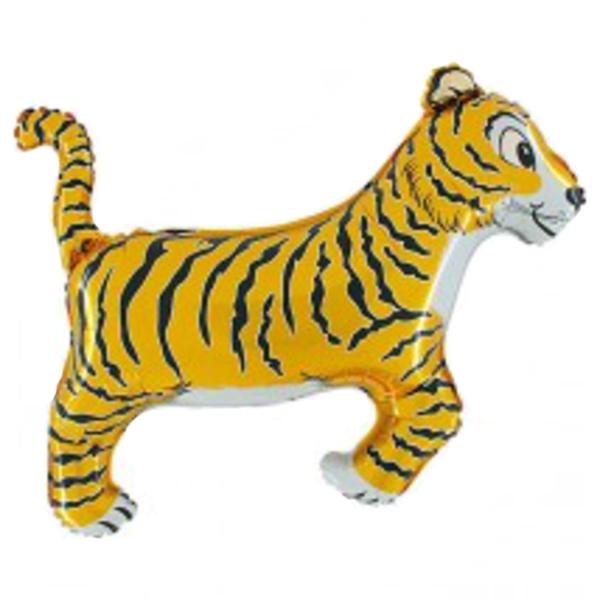 Fólia lufi,  mini forma, tigris, kb. 30-35cm