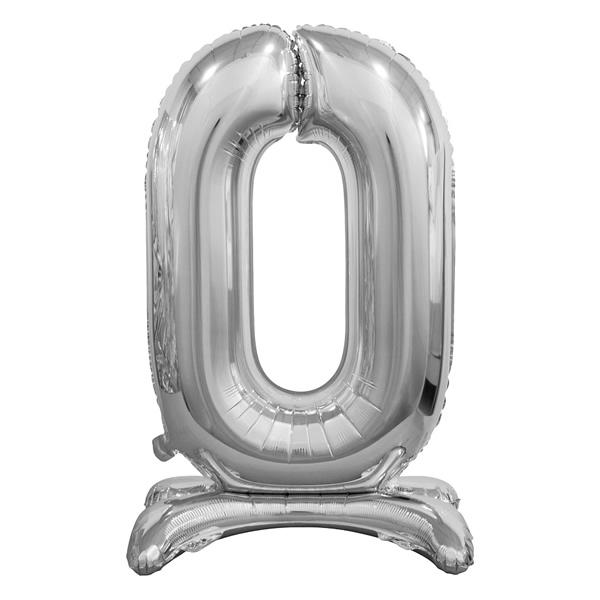 Fólia lufi, 0, talpas, ezüst, 74cm