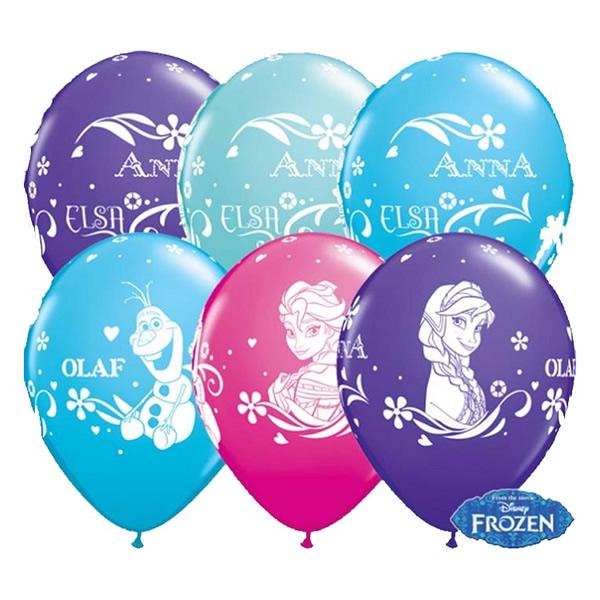 Lufi, Jégvarázs  Anna, Elsa és Olaf, színes, 5 db/cs