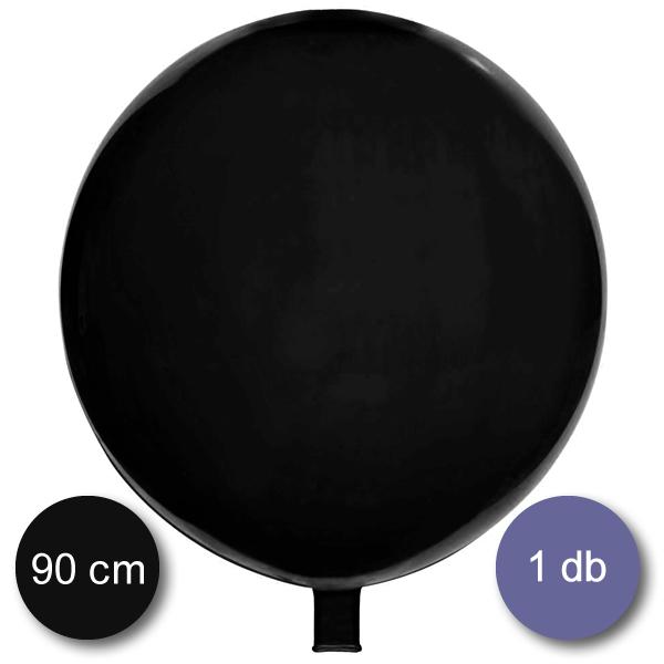 Gömb lufi fekete, 90 cm