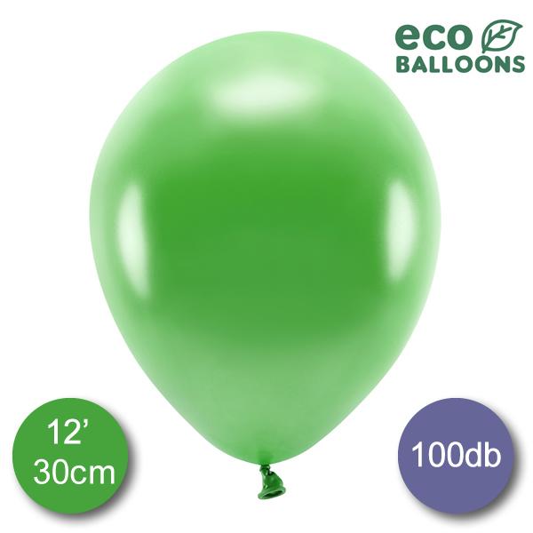 Lufi (metál) fű zöld, 32cm, 100 db/cs
