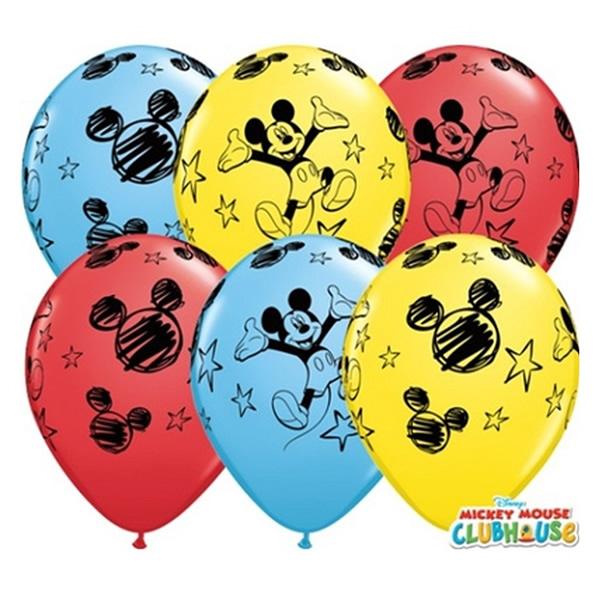 Lufi, Mickey, színes, 5 db/cs