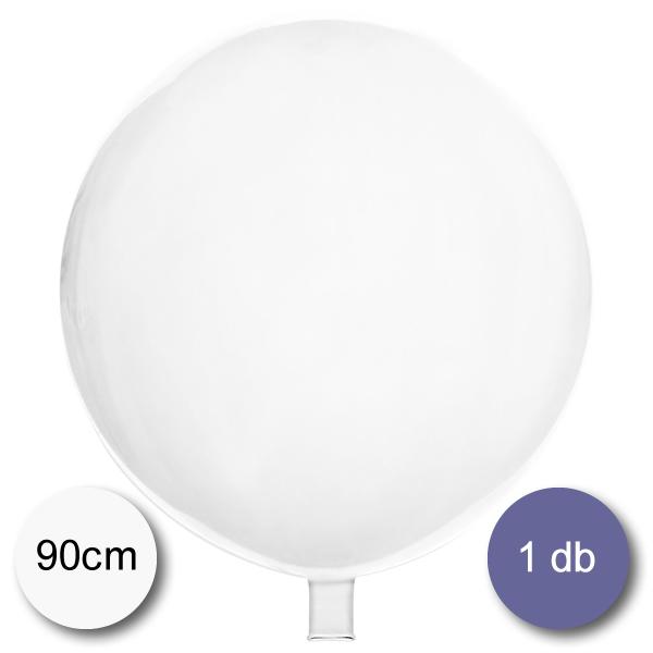 Gömb lufi átlátszó, 90 cm