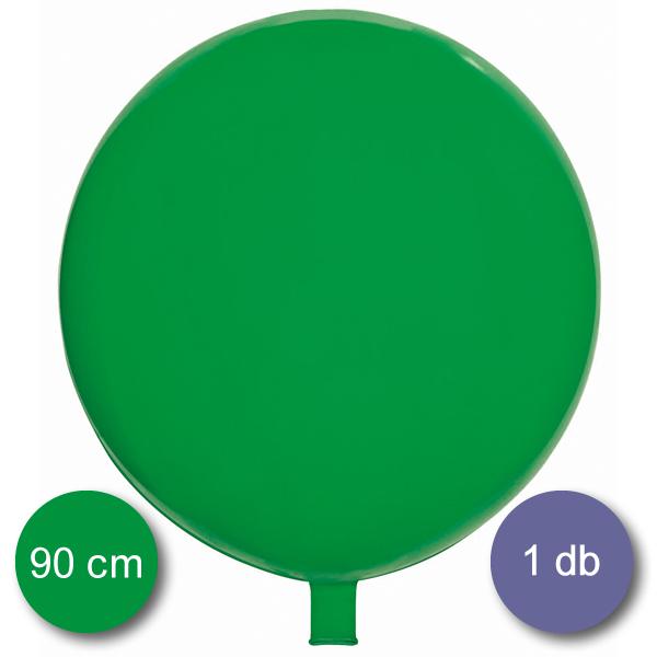 Gömb lufi zöld, 90 cm