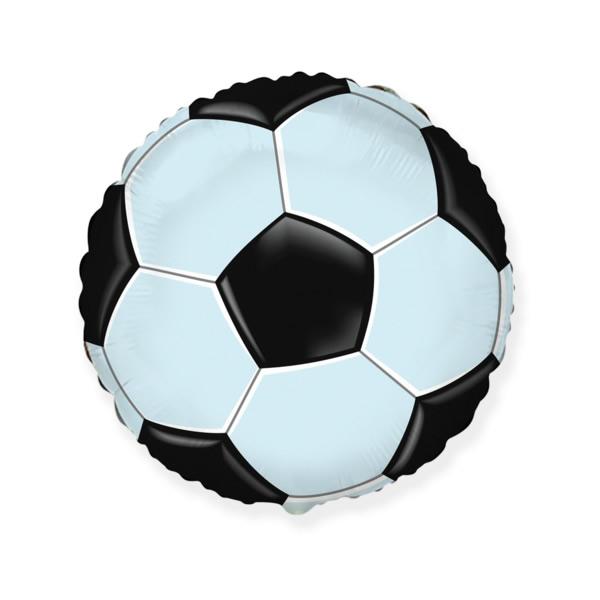 Fólia lufi,  gömb, focilabda, 45 cm, csomagolatlan
