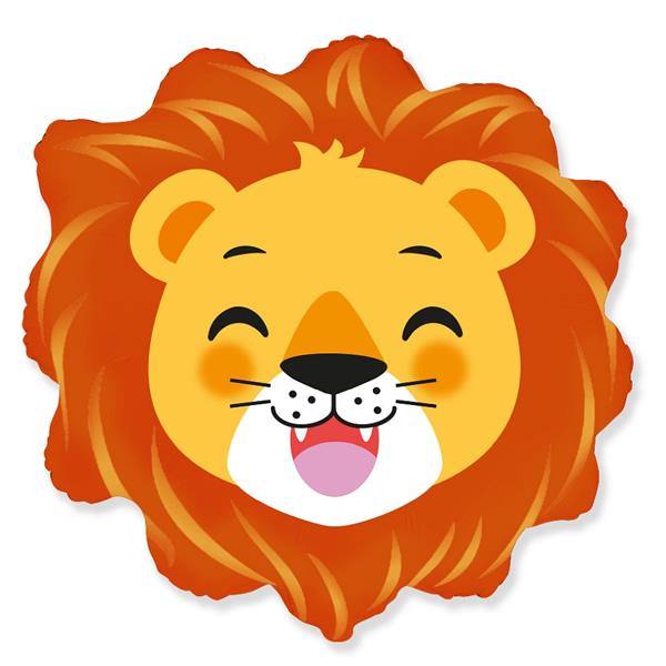 Fólia lufi, nagyforma oroszlán fej, 24
