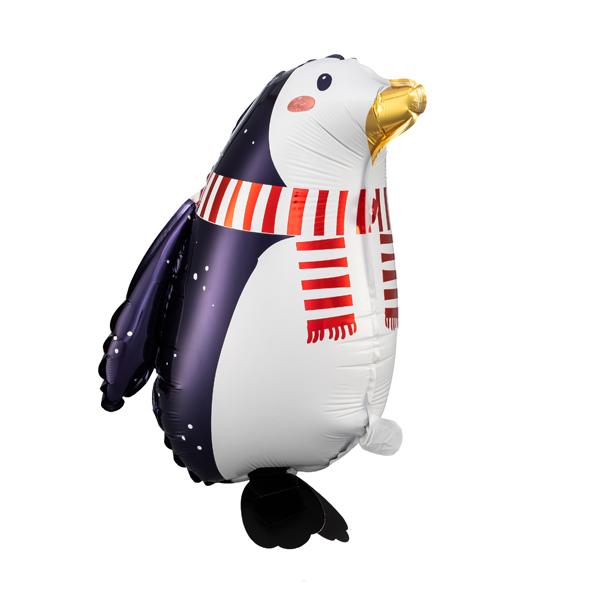 Sétáló Pingvin, fólialufi, 29X42 cm