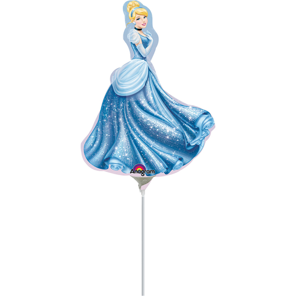 Fólia lufi, mini forma, Cinderella