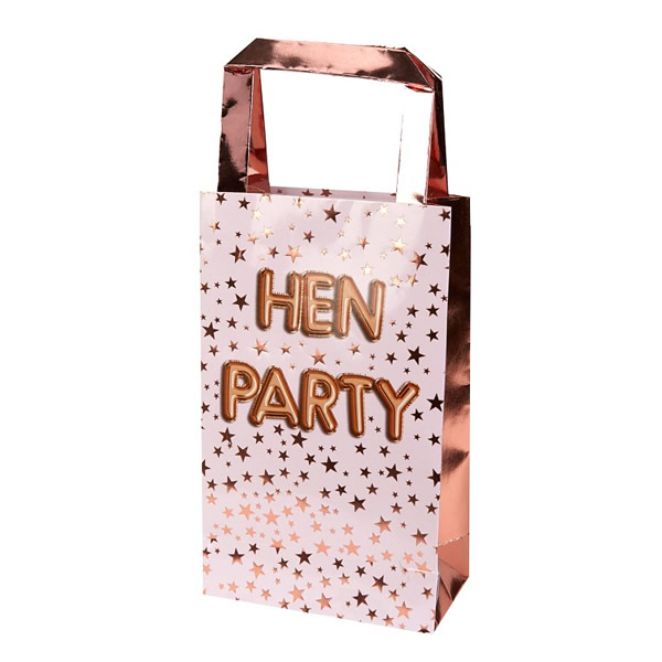 Papír táska, HEN PARTY , 5 db/cs