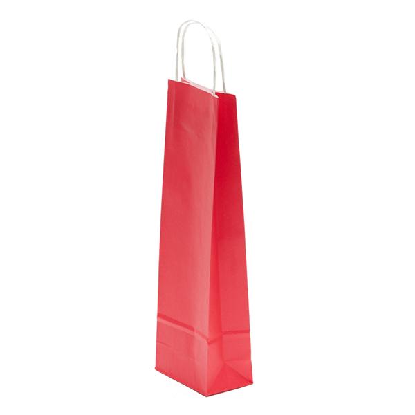 Sodrottfüles italos papírtáska, piros
