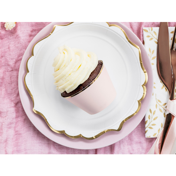 Muffin tartó, papír, 6db/cs