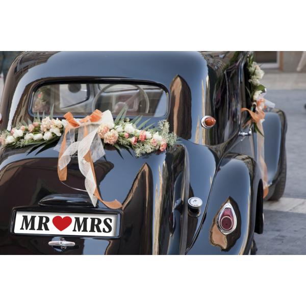 Rendszámtábla, Mr & Mrs