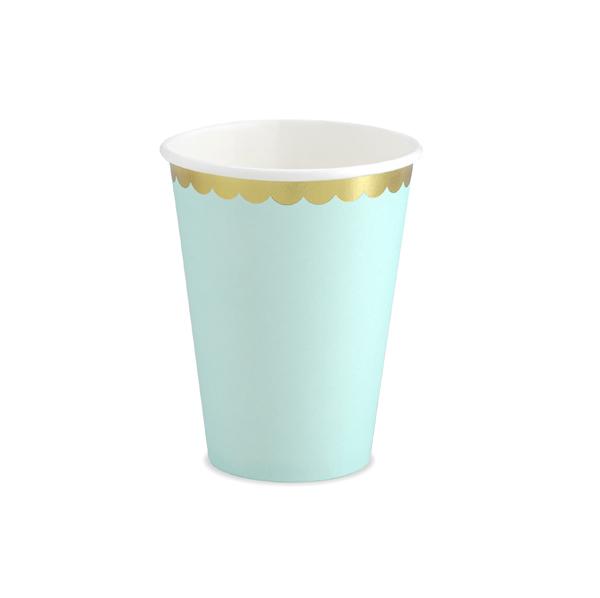 Party pohár, menta, 220ml, 6db/cs
