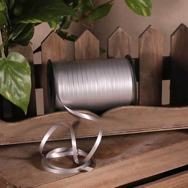 Kötöző szalag, matt ezüst, 180m*5mm