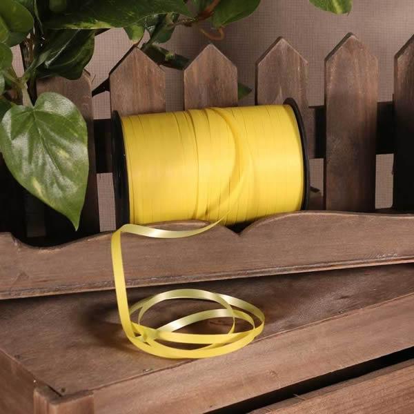 Kötöző szalag, matt sárga, 180m*5mm