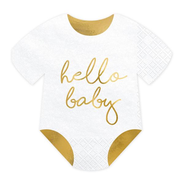 Hello baby szalvéta 20 db/cs