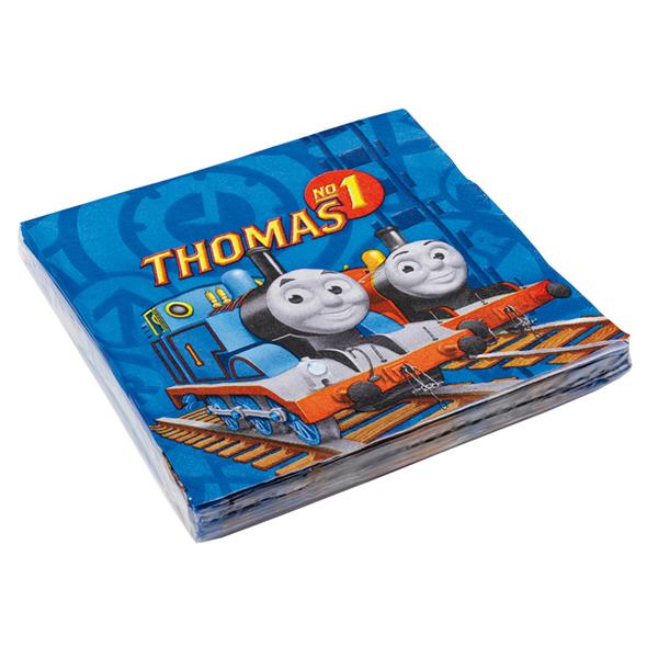 Szalvéta, Thomas a gőzmozdony, 20 db, 33x33 cm