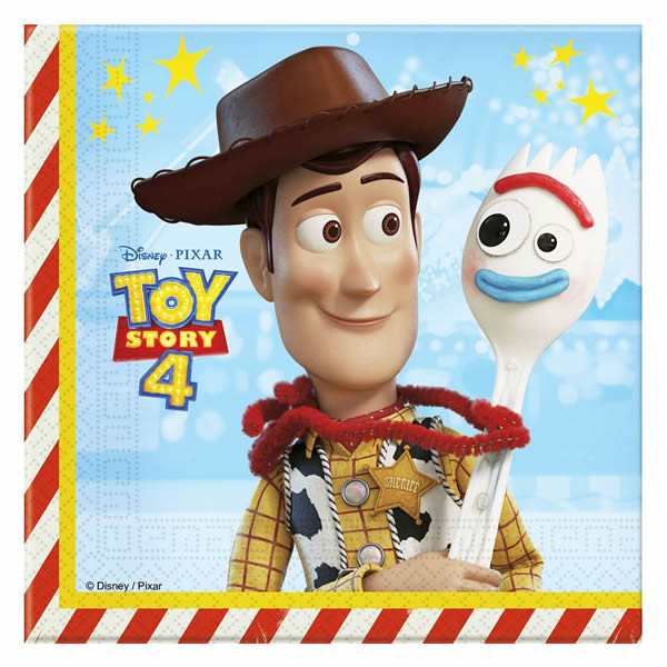 Toy Story szalvéta 33 x 33, 20db/cs