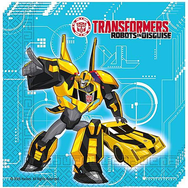 Transformers szalvéta, 20 db/cs, 33x33 cm