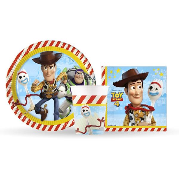 Papír tányér, Toy Story, 23cm, 8db/cs