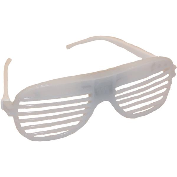 Rácsos, villogó szemüveg