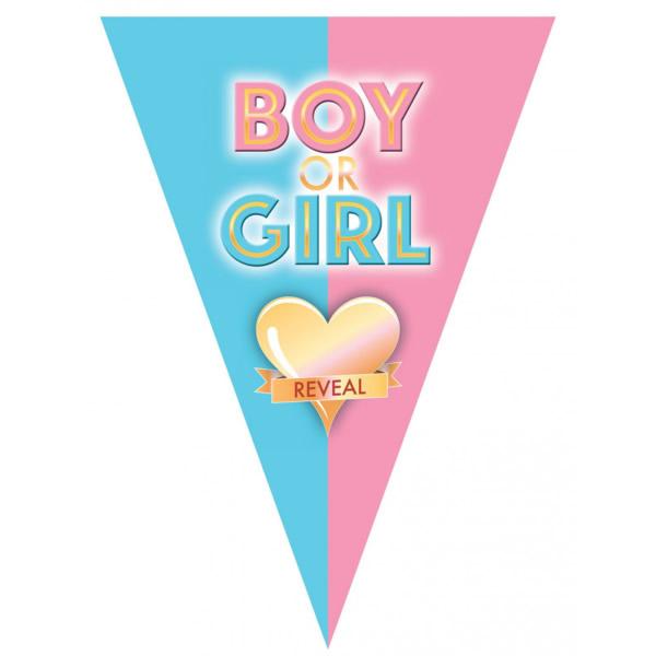 Boy or girl, Zászlófűzér, 5 m