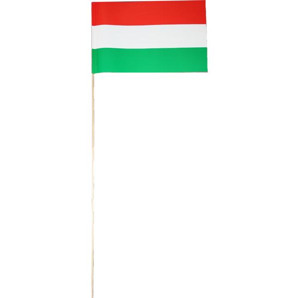 Magyar zászló hurkapálcán